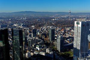 Frankfurt, Blick vom Maintower nach Nordwesten