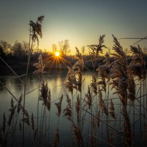 Sonnenaufgang in der Erdekaut